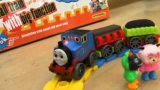 Видео обзор детская игрушка - Железная дорога Small train (kidtoy.in.ua)