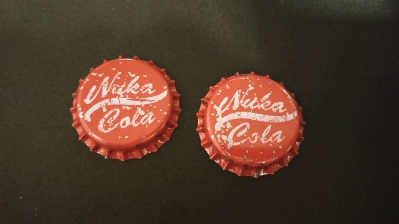 Fallout Nuka Cola Cap Set Wasteland Warfare