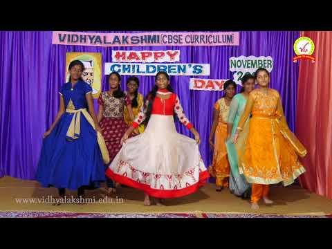 Children's day  Dance by grade 10 girls