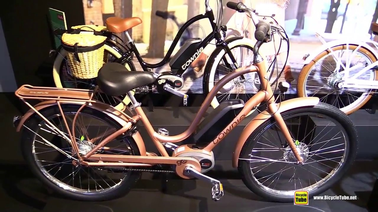 e152f7d666f 2018 Electra Bicycles Townie GO! 8i Electric Bike - Walkaround - 2017  Eurobike