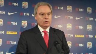 """Beretta: """"Due marzo possibile integrazione a statuto Serie A"""""""
