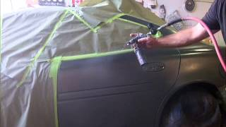 How to Spray and Blend Automotive Paint