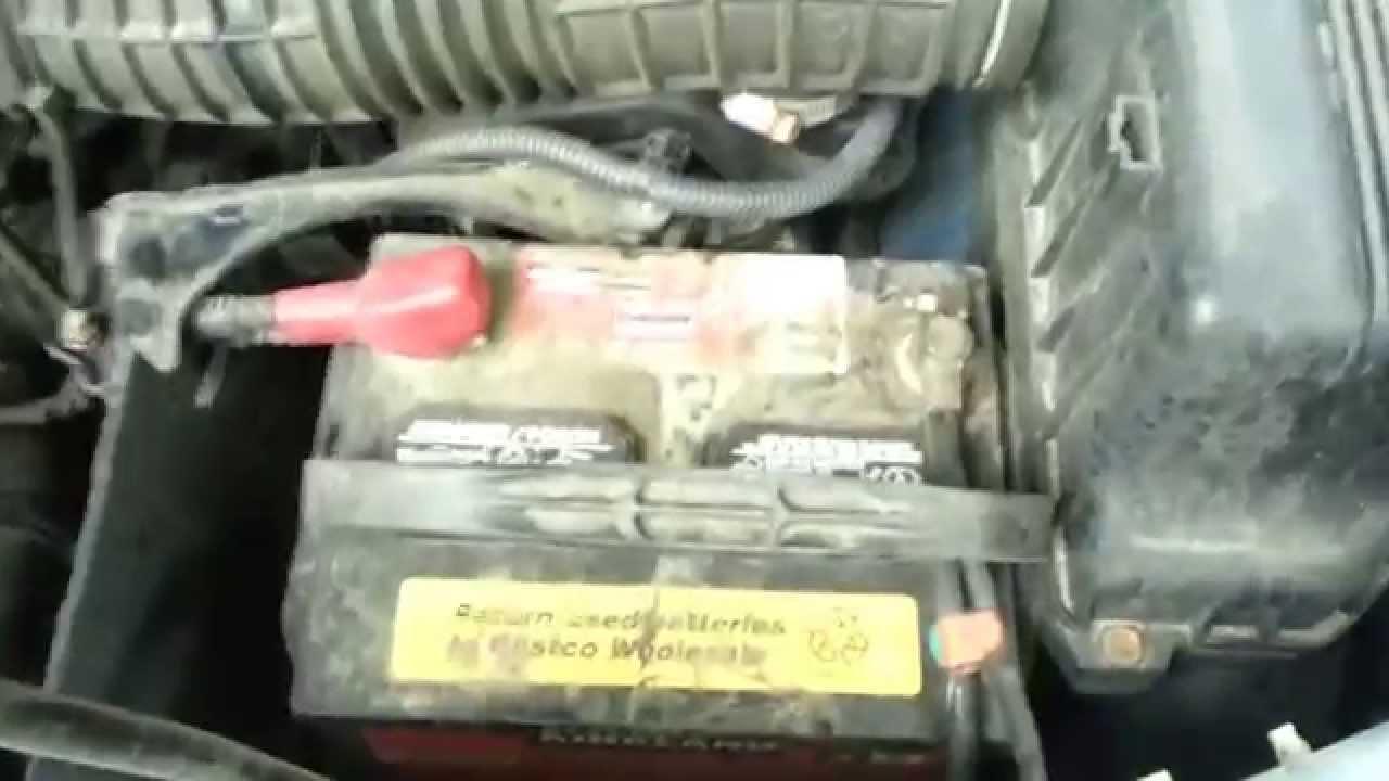 2006 Honda Pilot Battery Replacement