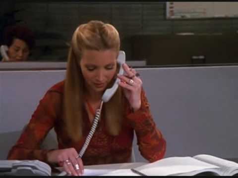 Friends - Phoebe works at Empire Office Supplies
