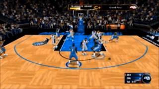 NBA 2K13 wii My Career part 2