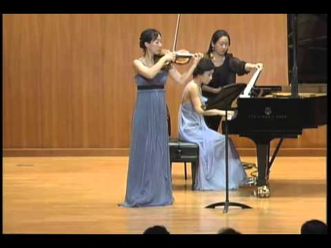 Brahms, Ⅳ Presto agitato, Sonata for Piano and Violin No.3 in D Minor, Op.108