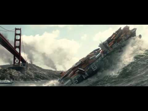 San Andreas Movie, tSunami Scene