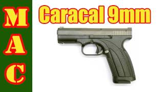 Caracal 9mm Pistol Review