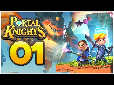 PORTAL KNIGHTS SWITCH Part 1: MINECRAFT + Rollenspiel auf der Nintendo Switch