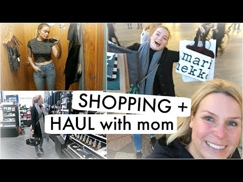 Shopping in Copenhagen & Haul with MOM ♡