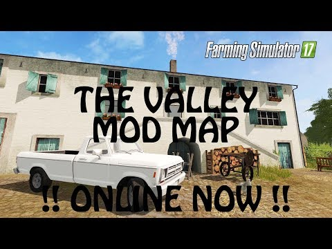 THE VALLEY THE OLD FARM MOD MAP ONLINE in Farming Simulator 2017  CHECK IT  PS4  Xbox One