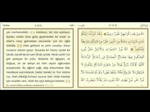 Kur'an ve İslam 353.Bölüm-Sebe Suresi-1.Bölüm