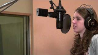 Claire Fowler: Miley Cyrus / Hannah Montana - The Climb Live Studio Recording