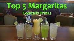 Top 5 Margaritas  Best Margarita Cocktails Top Drinks