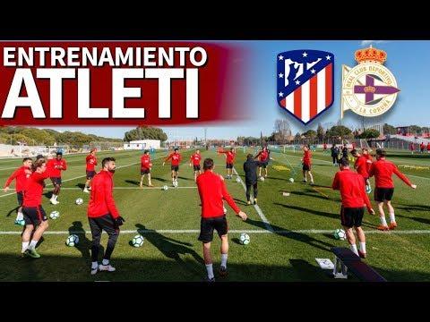 Atlético - Deportivo | Entrenamiento del Atleti en Majadahonda | Diario AS