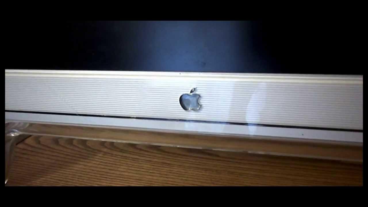 apple mac studio cinema display m7649 17 lcd flat screen computer pc monitor youtube. Black Bedroom Furniture Sets. Home Design Ideas