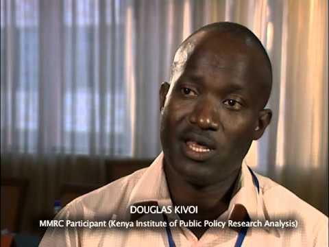 #Qualitative + #quantitative research methods = strong research : Douglas Kivoi