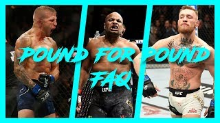 Le Classement Pound for Pound : Cormier n°1, McGregor n°2, Dillashaw n°3 ?!? | Podcast La Sueur