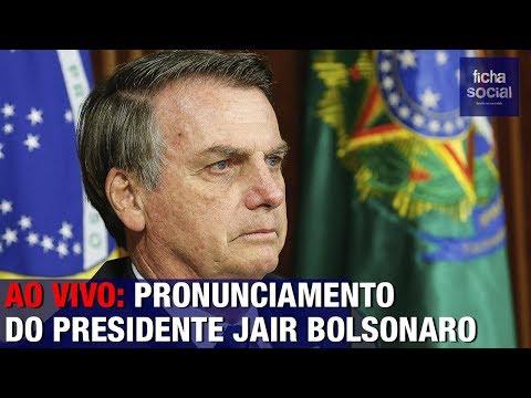 AO VIVO: PRESIDENTE BOLSONARO FAZ PRONUNCIAMENTO IMPACTANTE AO LADO DO EXÉRCITO BRASILEIRO
