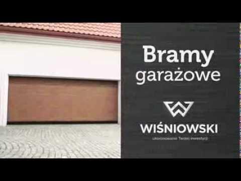 Wisniowski Bramy Garazowe Spot 8s Youtube
