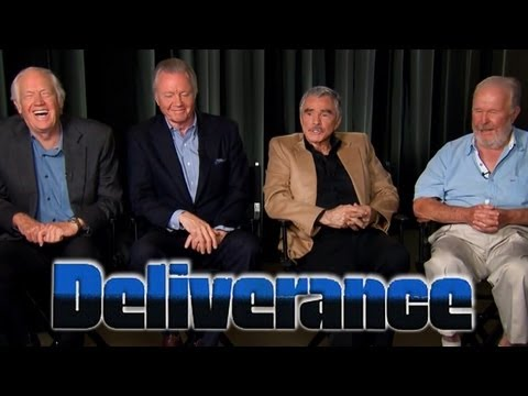 Deliverance s Ronny Cox, Jon Voight, Burt Reynolds & Ned Beatty