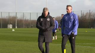 Schneiderlin And Lookman In Training