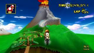 [MKW TAS] GCN DK Mountain(No-Glitch) - 2:00.919