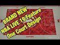 NBA Live 19 One Court Design | Are You Thinking What I'm Thinking?!