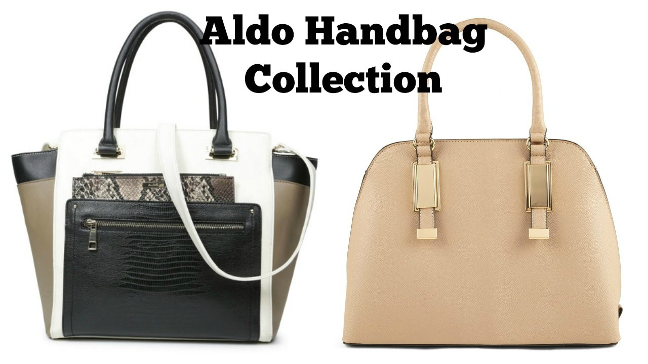 7e8965353c Aldo Handbag Collection - YouTube
