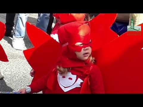 Desfiles de Carnaval das nossas crianças
