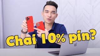 Mình bị chai gần 10% pin iPhone 12 Pro Max sau gần 8 tháng sử dụng!