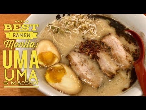 Best Ramen Manila: Uma Uma Ramen SM Mall of Asia Hakata Style Tonkotsu Ramen Fukuoka