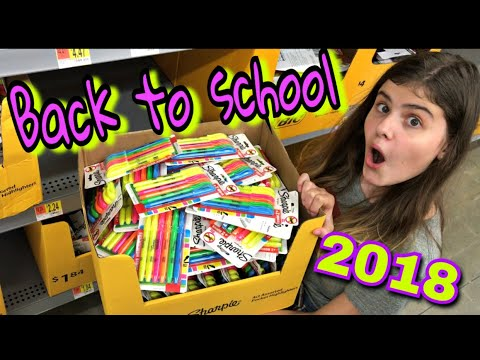 BACK TO SCHOOL 2018 Шоппинг! Бэк ту скул в США
