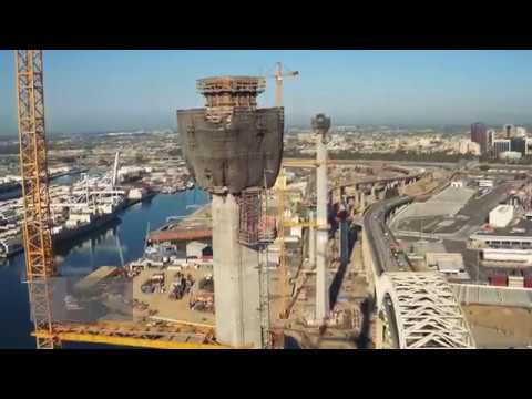 "Gerald Desmond Bridge Replacement Project ""Topping Out"" Ceremony at the Port of Long Beach"