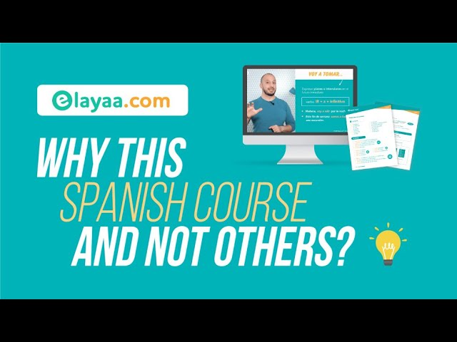 Learn Spanish: Why this Course?