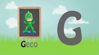 Impariamo l'alfabeto con PJ MASKS SUPER PIGIAMINI, CASA DELLE API e tanti altri [Video per bambini]