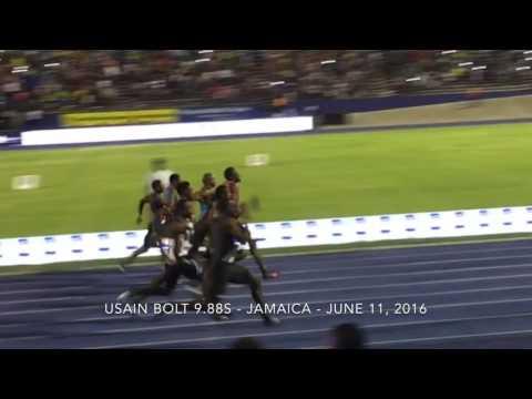 Usain Bolt 9.88s June 11, 2016