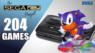 The SEGA CD / Mega CD Project - All 204 Games - Every Game (US/EU/JP/BR)