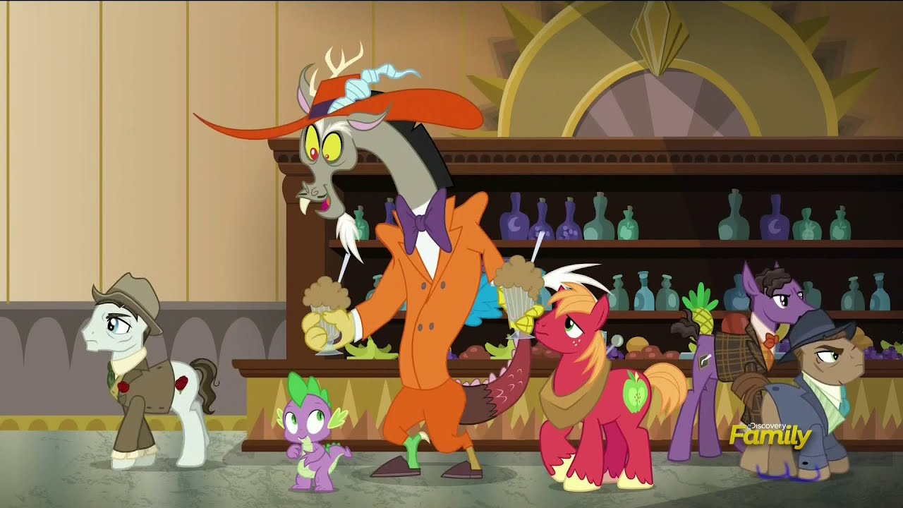 MLP:FiM - Sezon 6 Odcinek 17 - Dungeons and Discords ...
