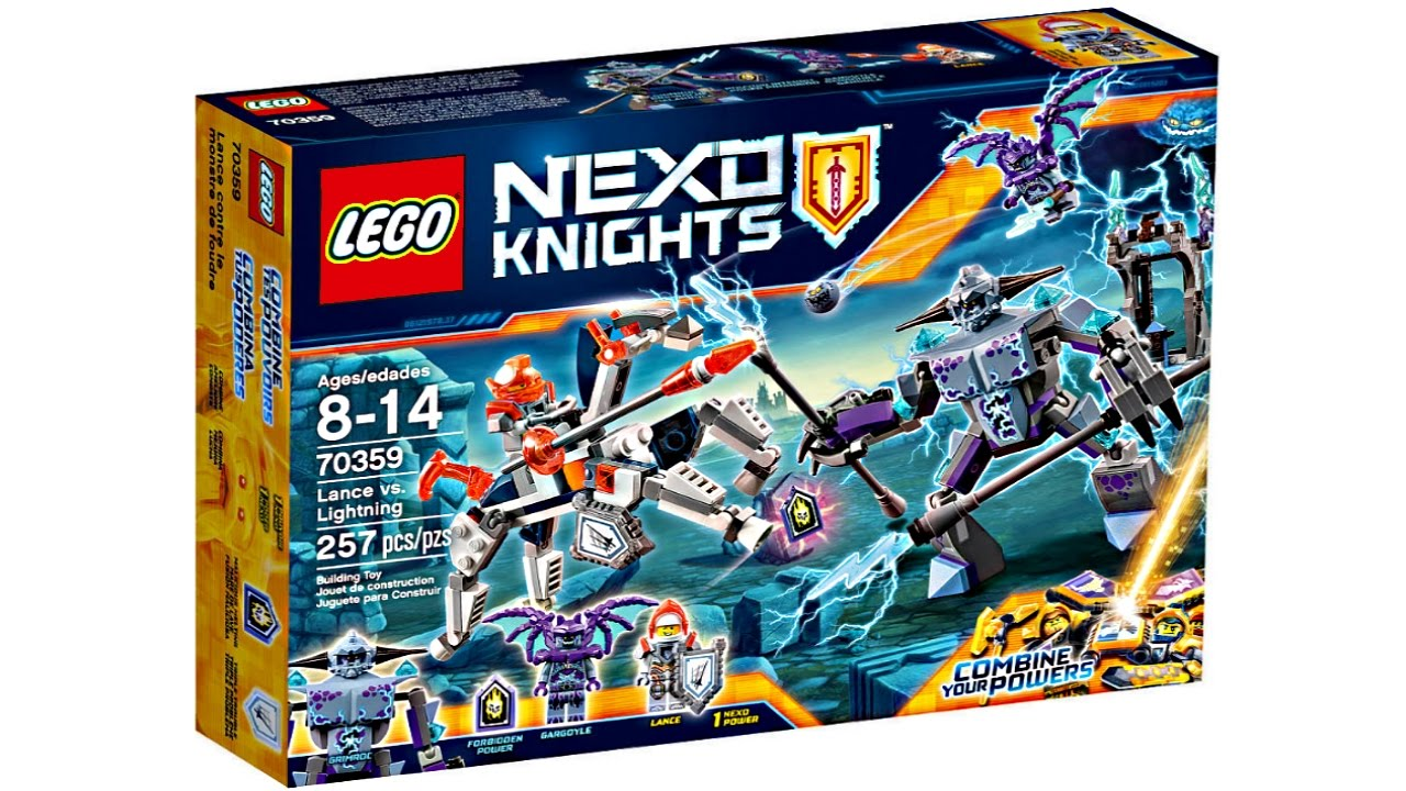 Lego Nexo Knights 2017 Sets Pictures Youtube