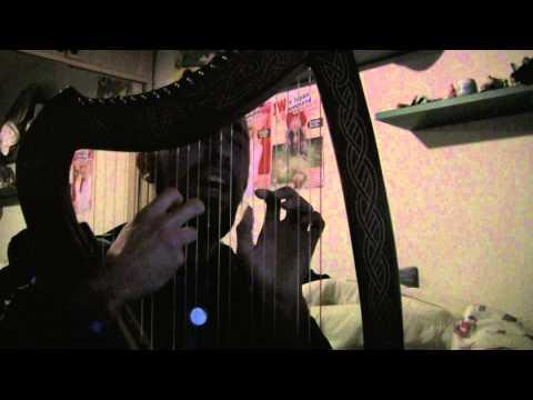 Luna Llena de Saratoga cover con arpa + voz