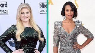 Kerry Washington, Melissa McCarthy, Meghan Trainor & More Reveal Their Celeb Crushes
