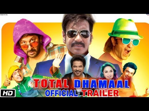 Total Dhamaal Official Trailer | Release Date Confirmed | Ajay Devgan, Anil Kapoor, Madhuri Dixit