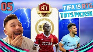 ΚΑΛΟΥΤΣΙΚΑ REWARDS?? | FUT CHAMPIONS & EPL TOTS PACK | FIFA 19 GREEK ULTIMATE TEAM | RTG EP.5