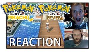 Pokemon Let's Go Pikachu & Eevee for Nintendo Switch REACTION!