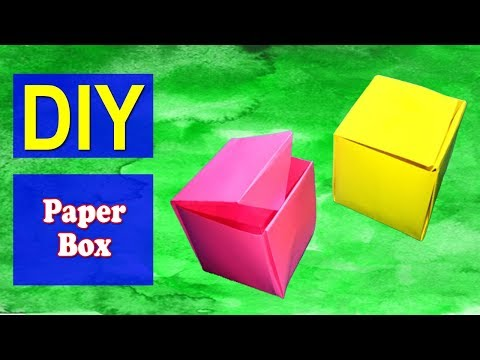 How to Make Paper Box 01 | Easy DIY Paper Box | Why Crafts
