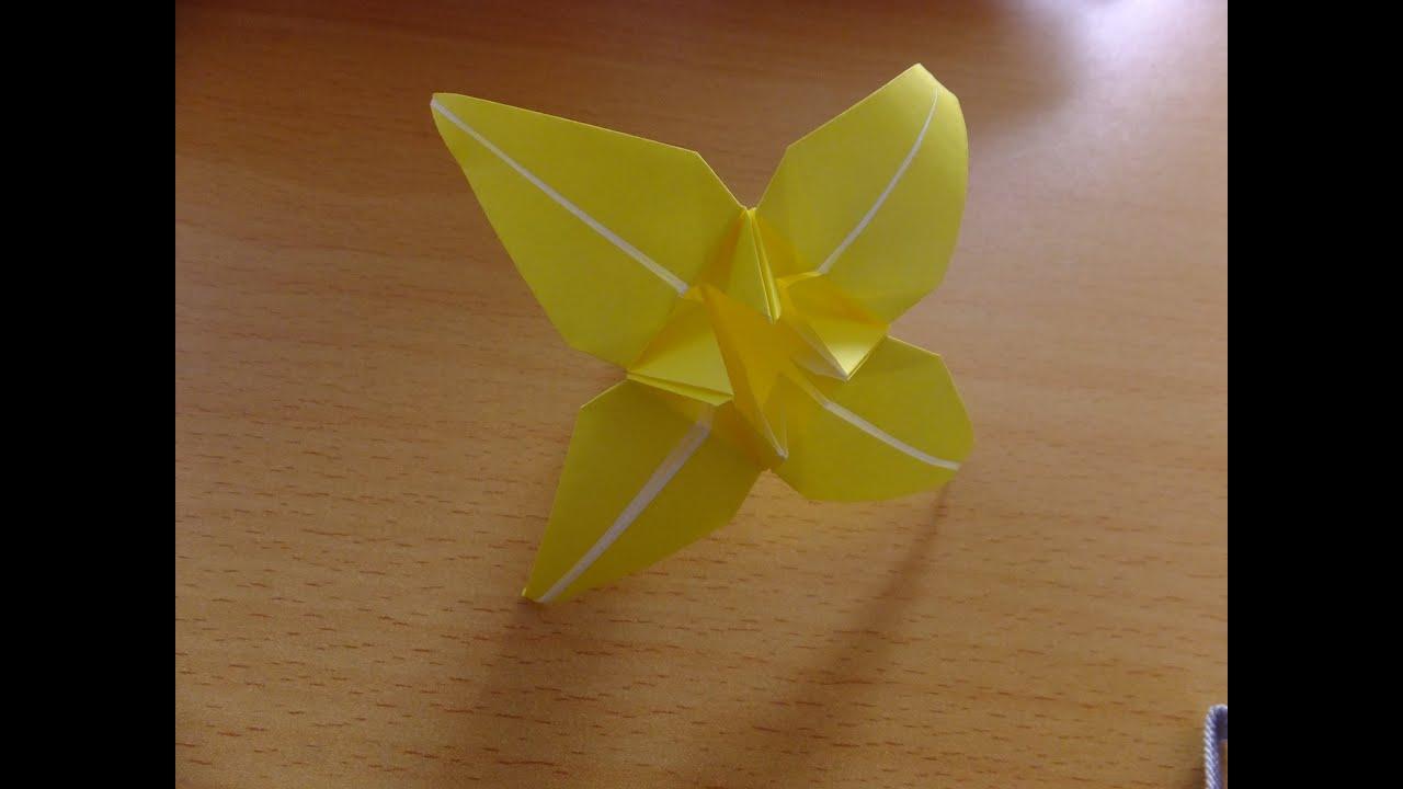 すべての折り紙 折り紙トトロの作り方 : おりがみ】お花の折り方 ...