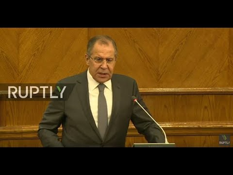 LIVE: Lavrov holds joint presser with Jordanian FM in Amman