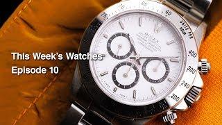 This Week's Watches #10 Rolex Submariner 5512, Rolex Daytona Rolex Daytona 16520 Zenith And More