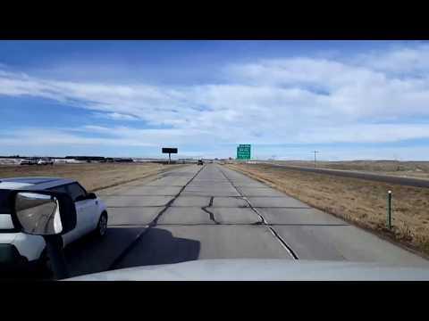 BigRigTravels LIVE! Fort Morgan to Monument, Colorado I-76 & I-25-Feb. 3, 2018